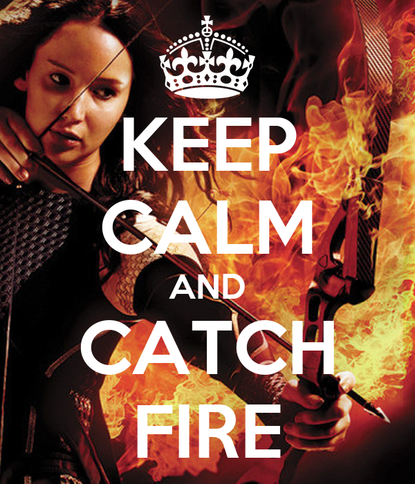 KEEP CALM AND CATCH FIRE