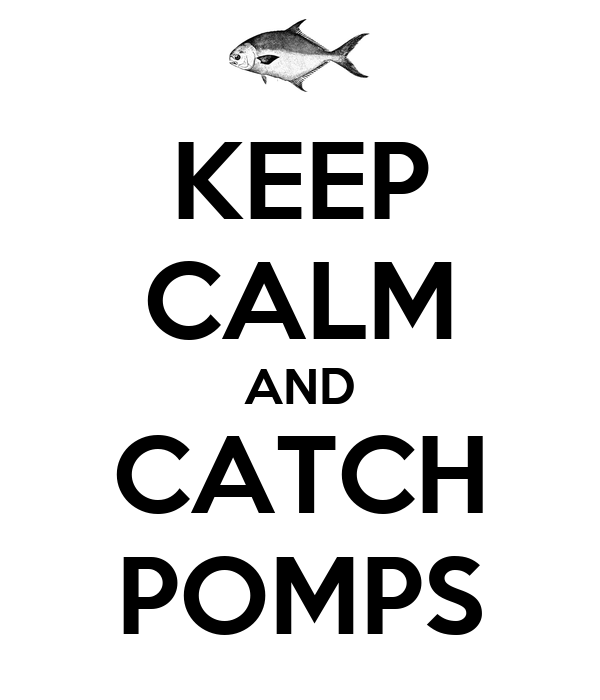 KEEP CALM AND CATCH POMPS
