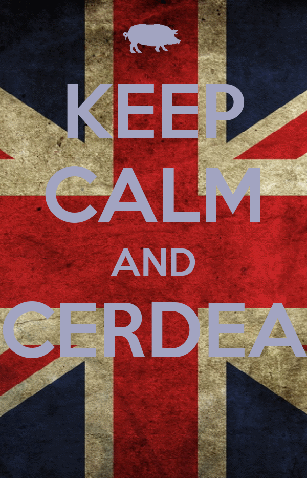 KEEP CALM AND CERDEA