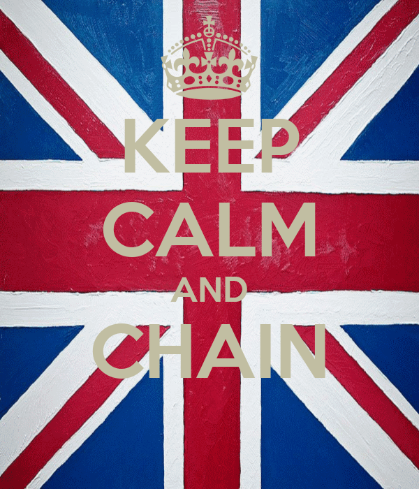 KEEP CALM AND CHAIN