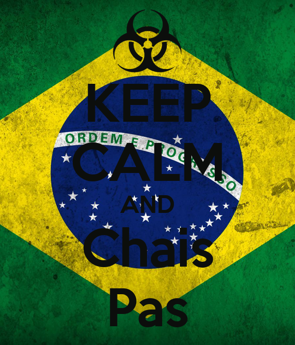 KEEP CALM AND Chais Pas