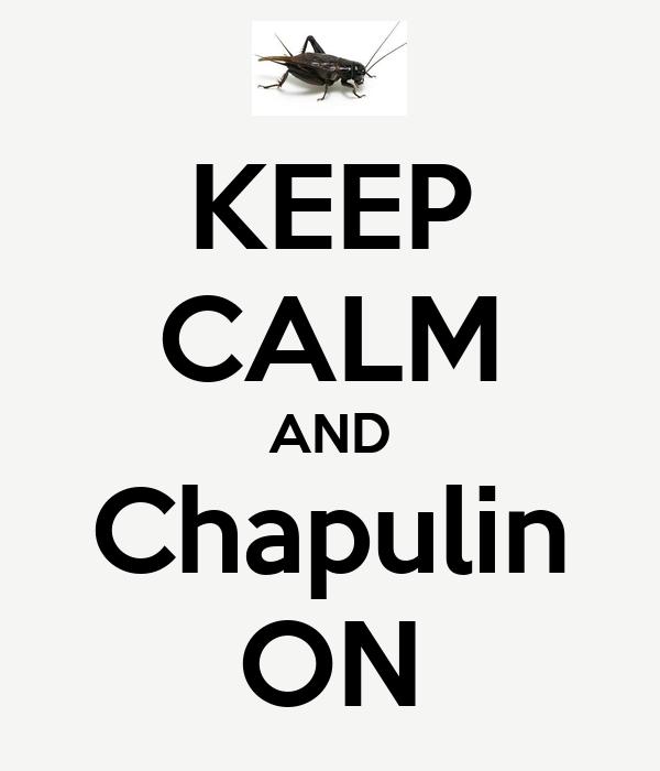 KEEP CALM AND Chapulin ON