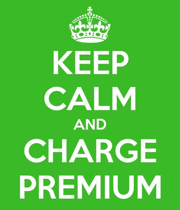 KEEP CALM AND CHARGE PREMIUM