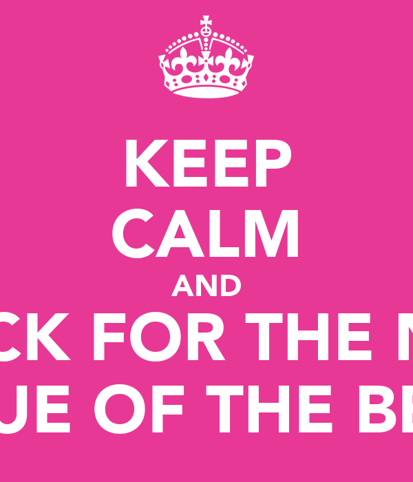 KEEP CALM AND CHECK FOR THE NEXT ISSUE OF THE BEAT