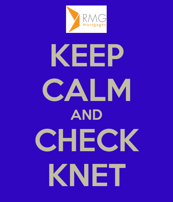 KEEP CALM AND CHECK KNET