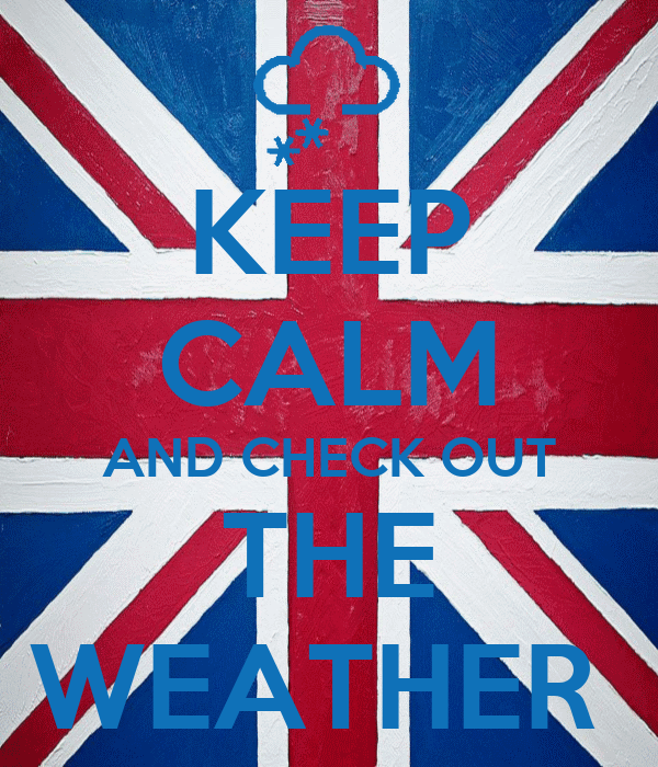 KEEP CALM AND CHECK OUT THE WEATHER