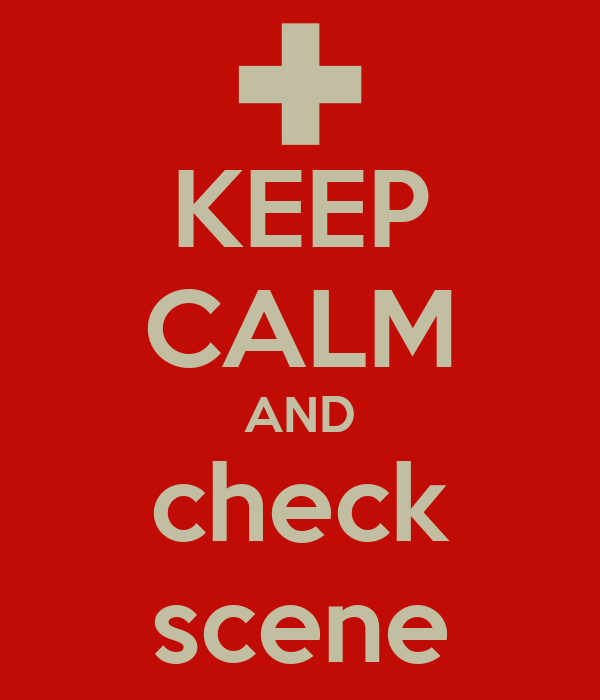 KEEP CALM AND check scene