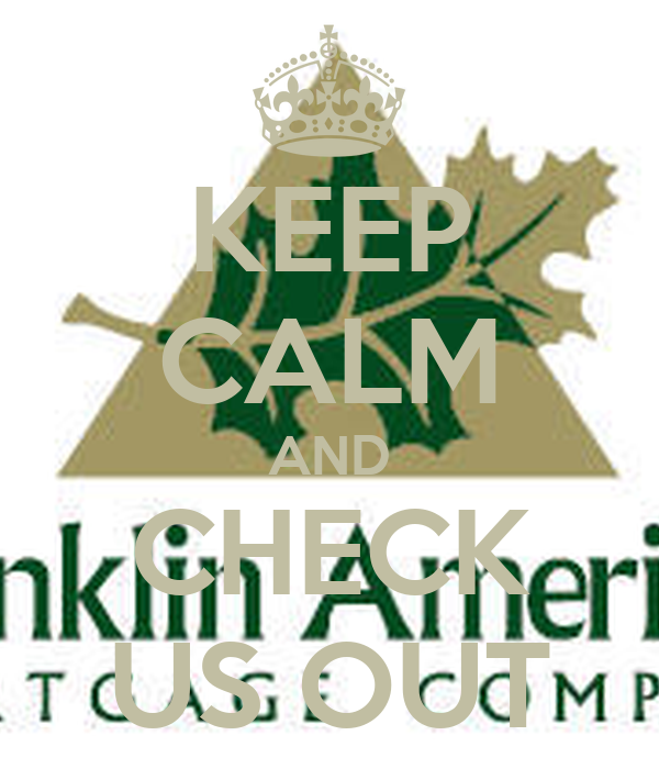 KEEP CALM AND CHECK US OUT
