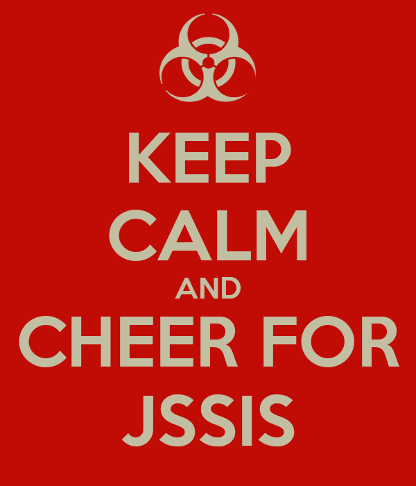 KEEP CALM AND CHEER FOR JSSIS