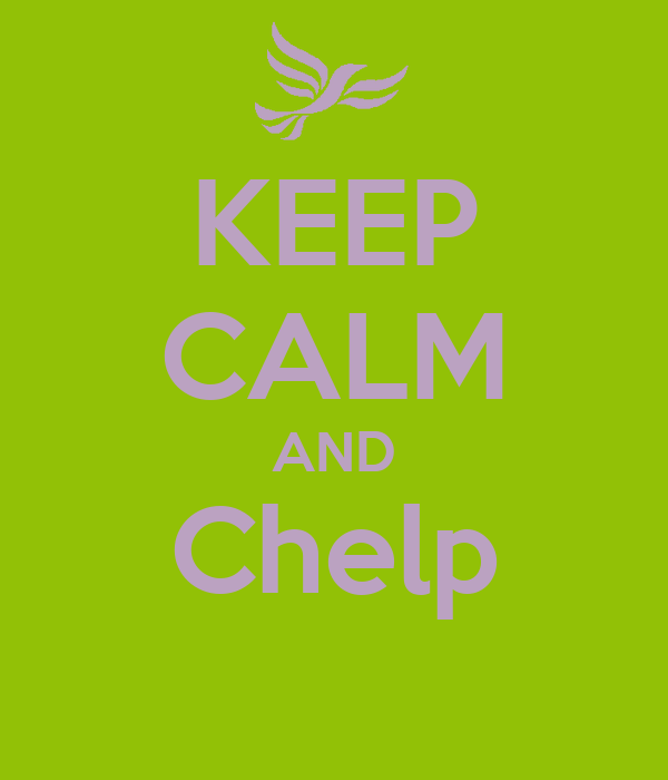KEEP CALM AND Chelp