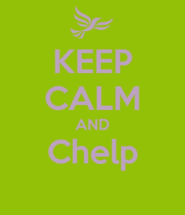 KEEP CALM AND Chelp