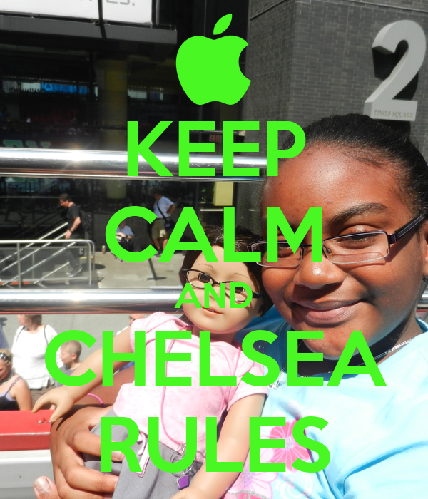 KEEP CALM AND CHELSEA RULES