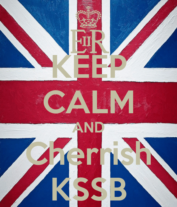 KEEP CALM AND Cherrish KSSB