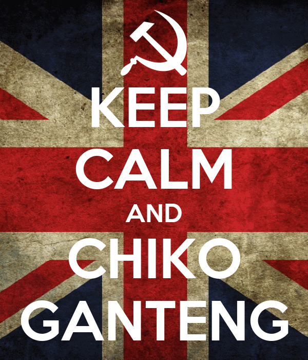 KEEP CALM AND CHIKO GANTENG