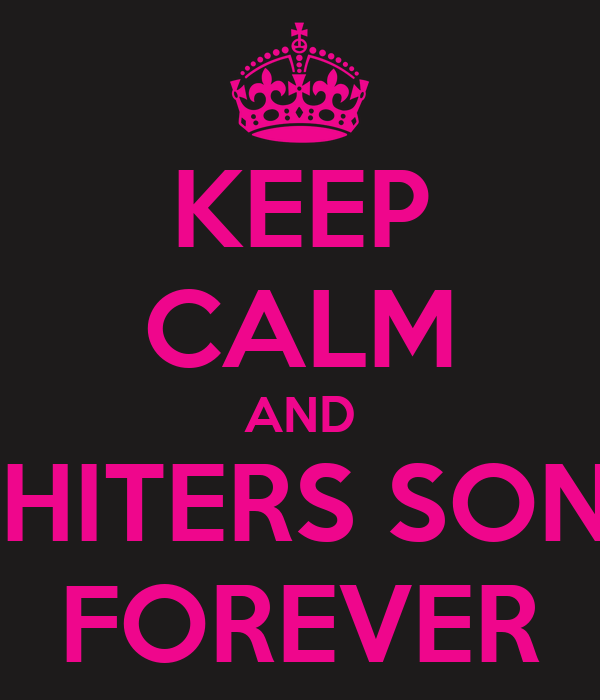 KEEP CALM AND CHITERS SONE FOREVER
