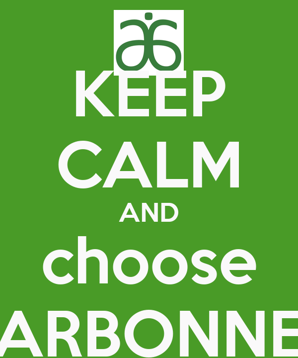 KEEP CALM AND choose ARBONNE