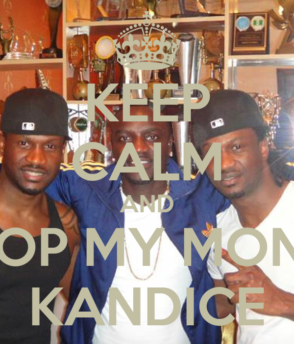 KEEP CALM AND CHOP MY MONEY KANDICE