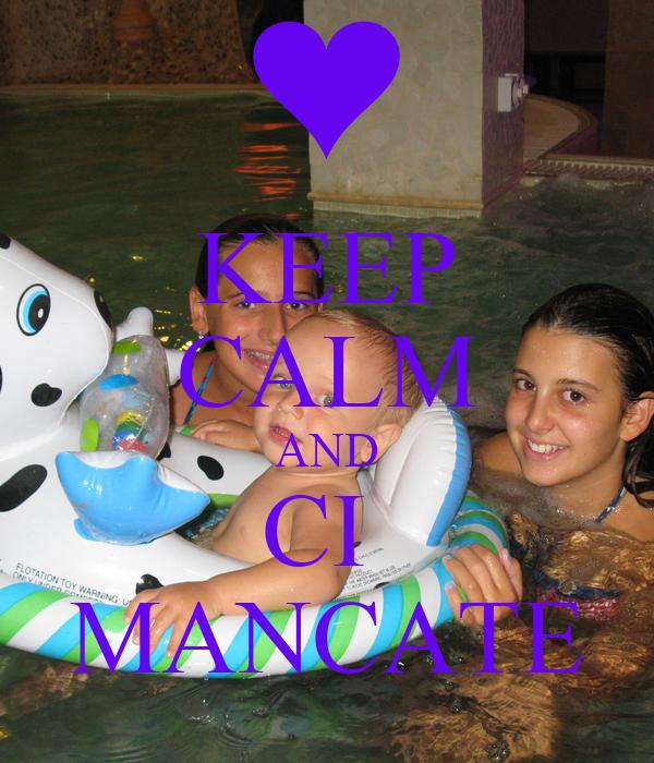KEEP CALM AND CI  MANCATE