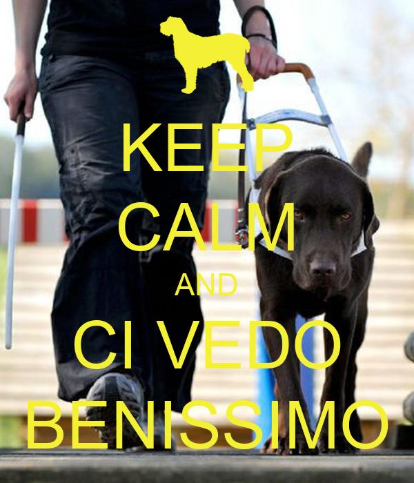 KEEP CALM AND CI VEDO BENISSIMO