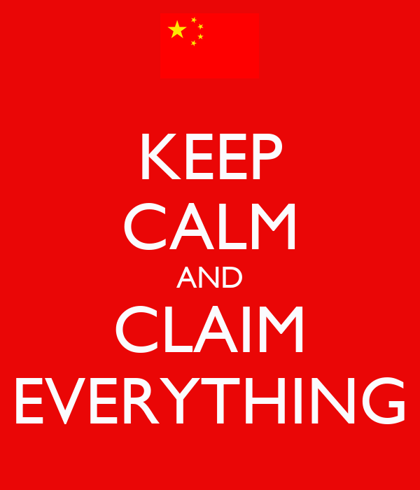 KEEP CALM AND CLAIM EVERYTHING