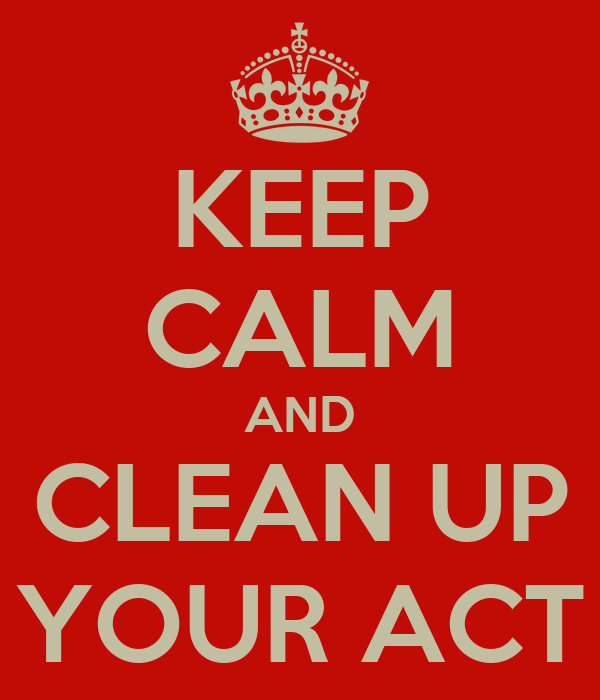 WWW.Clean Up Your Act