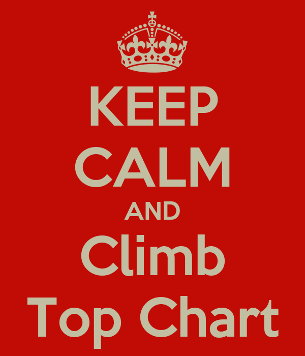KEEP CALM AND Climb Top Chart