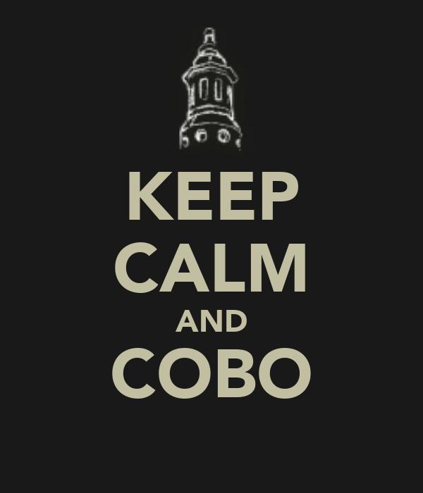 KEEP CALM AND COBO
