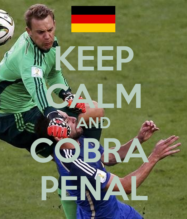 KEEP CALM AND COBRA  PENAL