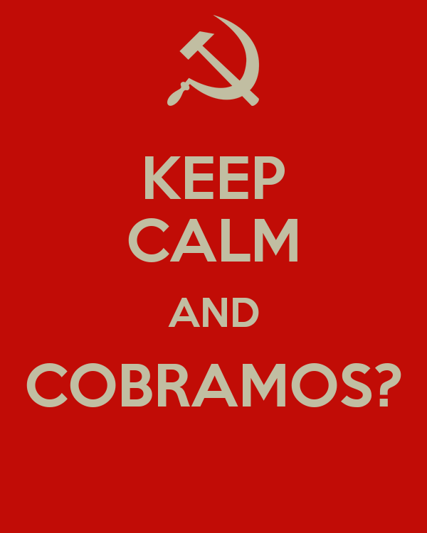 KEEP CALM AND COBRAMOS?