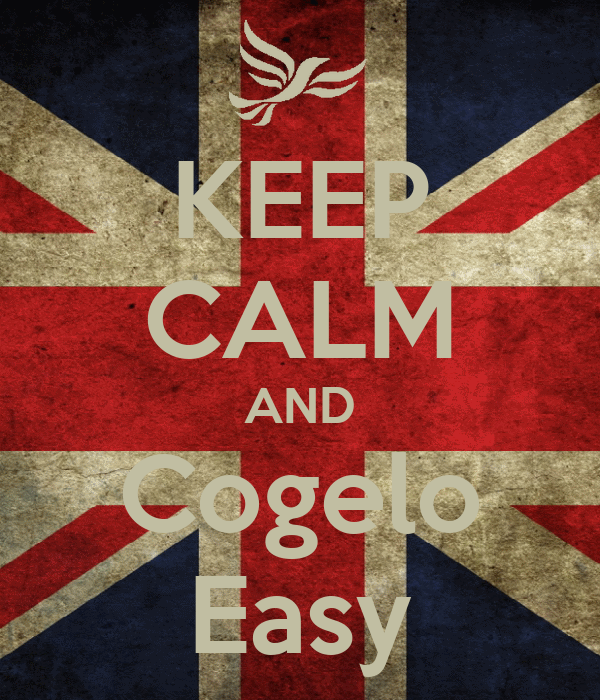 KEEP CALM AND Cogelo Easy
