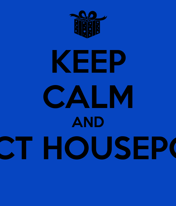 KEEP CALM AND COLLECT HOUSEPOINTSA