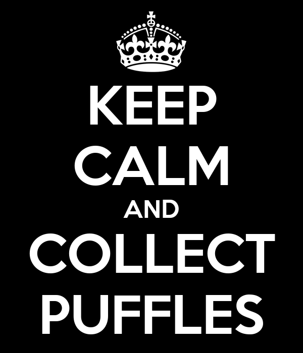 KEEP CALM AND COLLECT PUFFLES