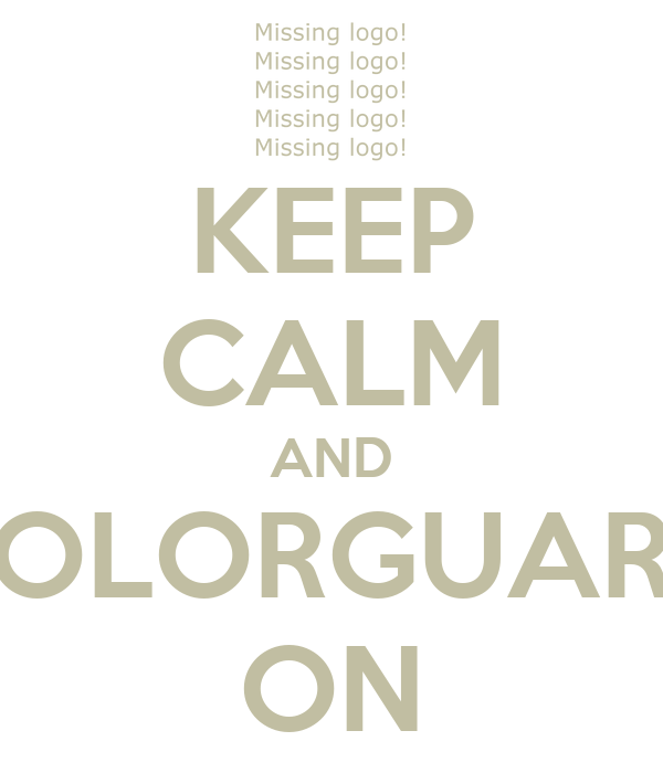 KEEP CALM AND COLORGUARD ON