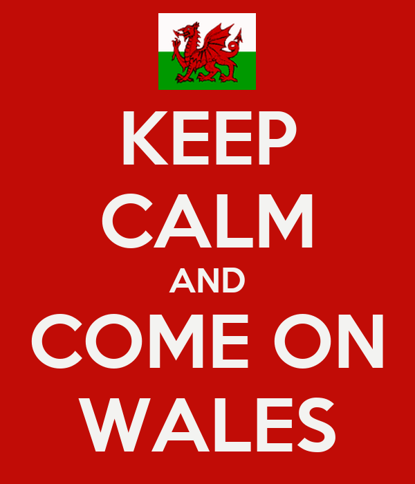 KEEP CALM AND COME ON WALES