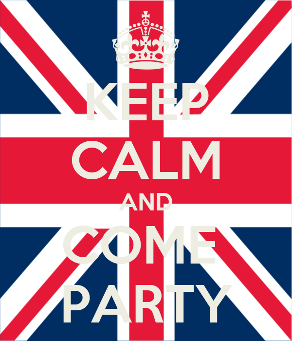 KEEP CALM AND COME  PARTY
