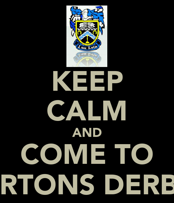 KEEP CALM AND COME TO MILNERTONS DERBY DAY