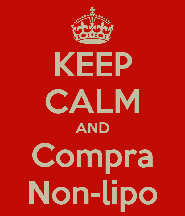 KEEP CALM AND Compra Non-lipo