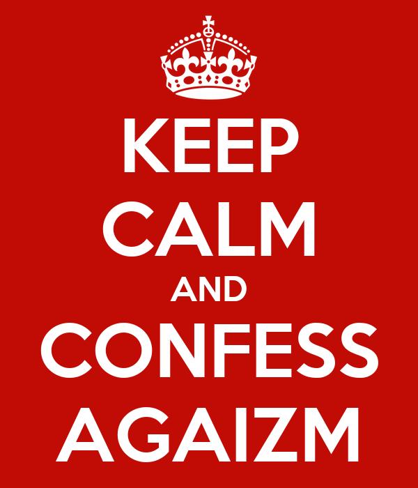 KEEP CALM AND CONFESS AGAIZM