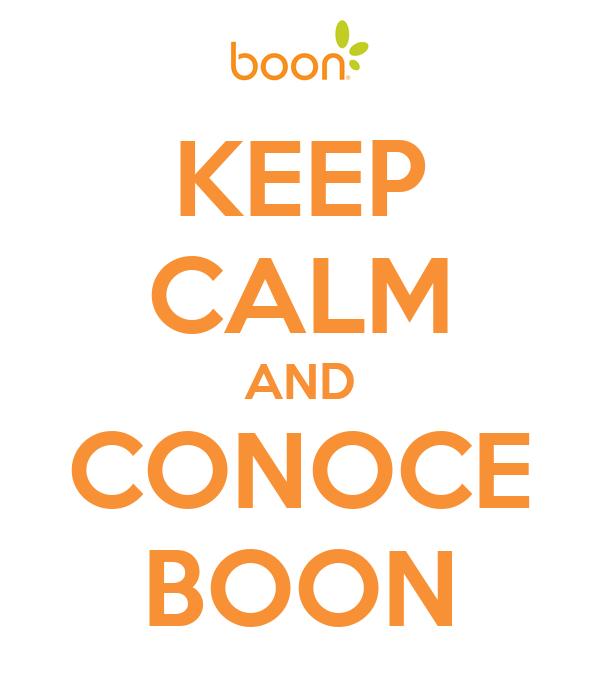 KEEP CALM AND CONOCE BOON