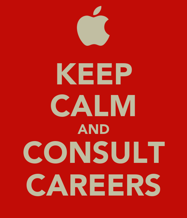 KEEP CALM AND CONSULT  CAREERS