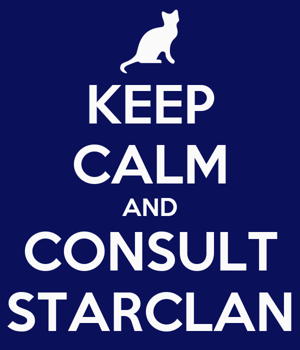 KEEP CALM AND CONSULT STARCLAN