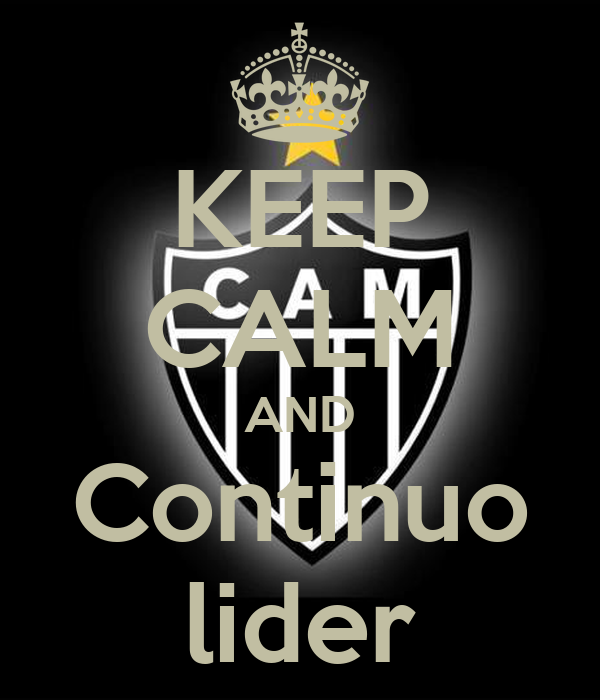 KEEP CALM AND Continuo lider
