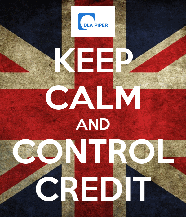 KEEP CALM AND CONTROL CREDIT