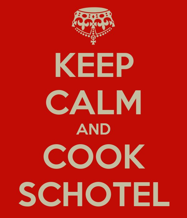 KEEP CALM AND COOK SCHOTEL