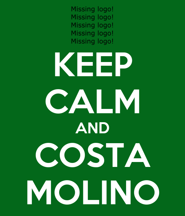 KEEP CALM AND COSTA MOLINO
