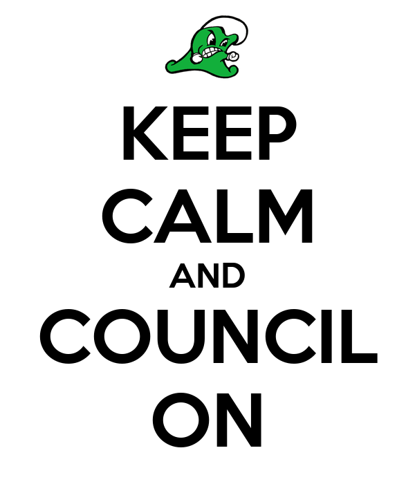 KEEP CALM AND COUNCIL ON