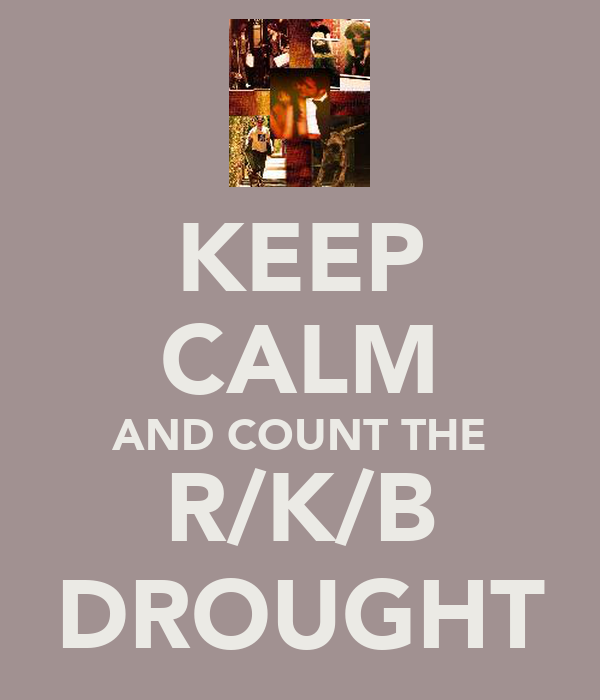KEEP CALM AND COUNT THE R/K/B DROUGHT