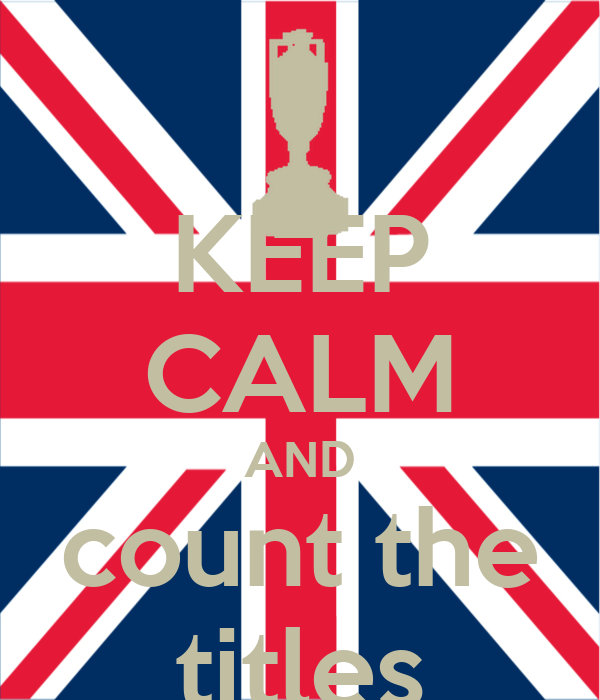 KEEP CALM AND count the titles