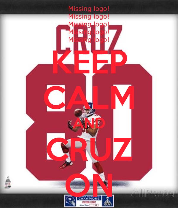 KEEP CALM AND CRUZ ON