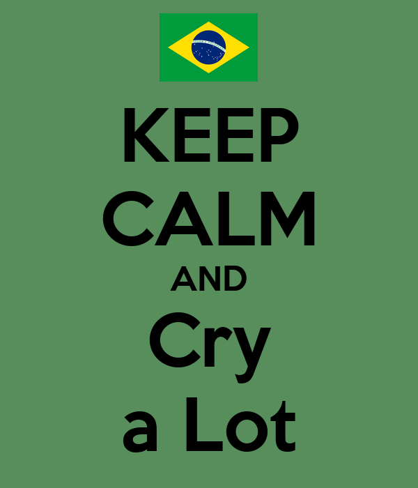 KEEP CALM AND Cry a Lot